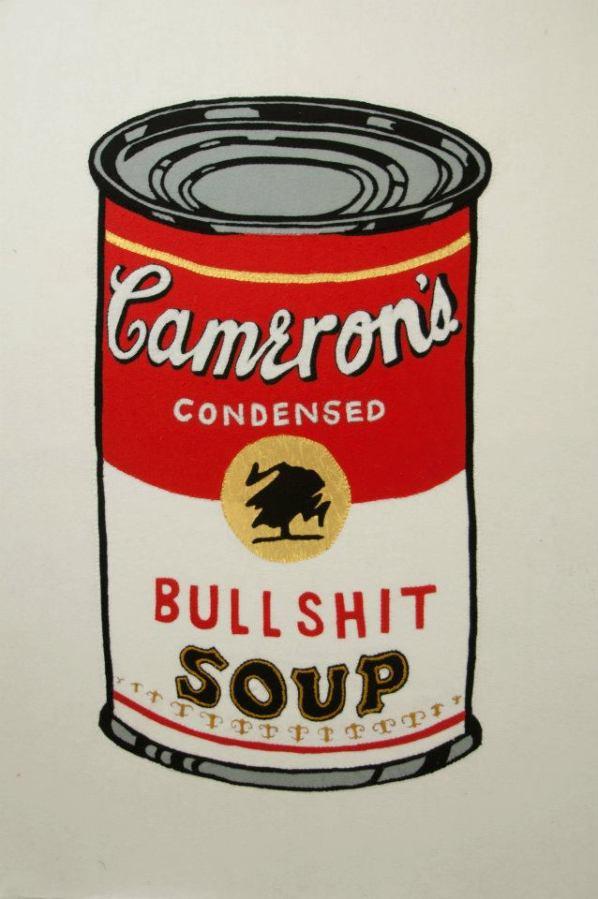 'Cameron's Bullshit Soup' 1/1 SOLD