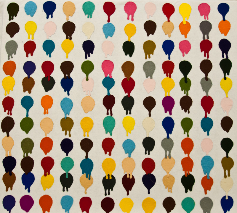 'If Damien Hirst Had Used Paint Thinners' SOLD 1/1