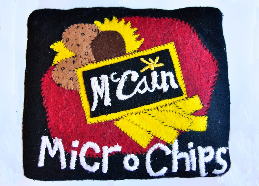 'Micro Chips' 1/1 sold