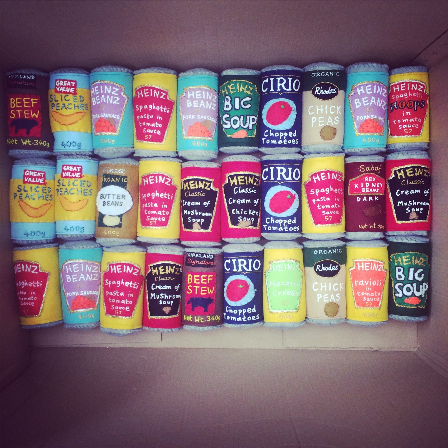 Canned goods &Confectionery