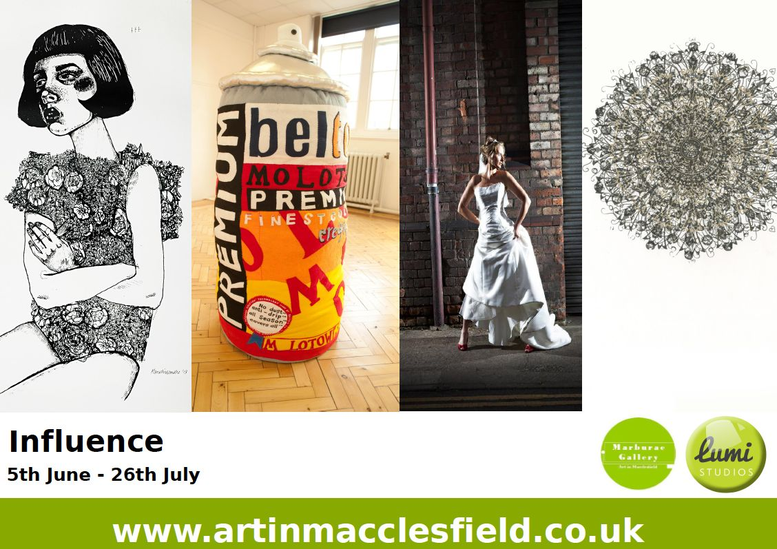 Marburae Art Gallery, Influence | Contemporary visual arts exhibition OPENS THURS 5THJUNE