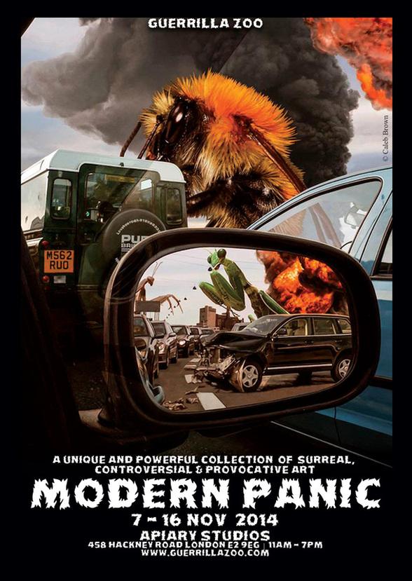 Modern Panic SAT 8TH – SUN 16TH NOVEMBER2014